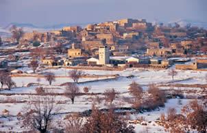 Midyat'a Bağlı HAH (Anıtlı) Köyünün Genel Görünümü