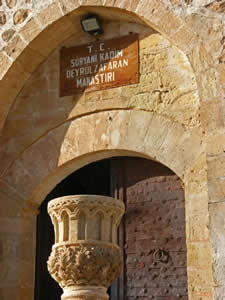 Manastırın Giriş Kapısı