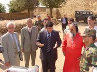 Sareköy'de Evlerin Teslimi İçin Yapılan Tören