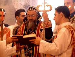 Mor Gabriel'de Metropolit Eşliğinde Bir Ayin