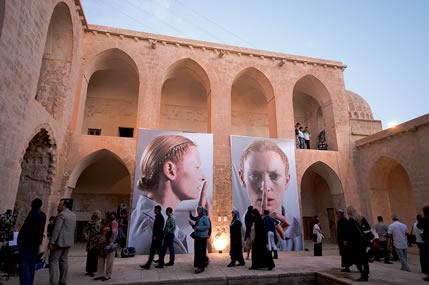 Kasımıye Medrese'sinde Bienal Etkinliği
