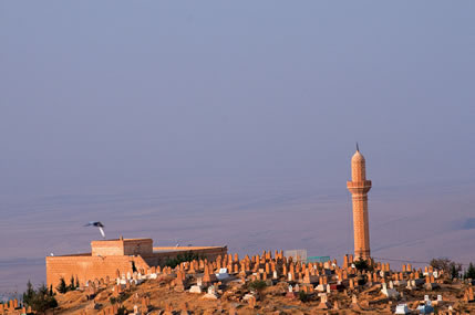 Mezopotamya Ovasına Bakan Müslüman Mezarlığı