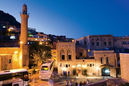 Mardin'e Gelen Turistler Artıyor