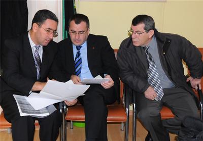 Vakıf Başkanı Kuryakos Ergün Dava Öncesi Milletvekili Kerimo İle Görüşüyor