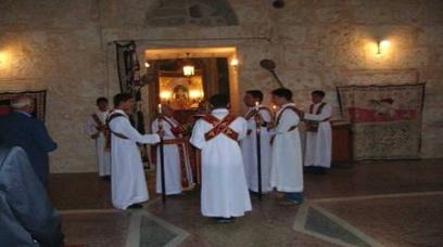 Manastırda Yapılan Bir Dini Ayin