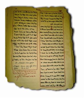 Süryani Hattatların El Yazması Fanqitho'ları