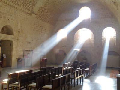 Mor Gabriel Manastırının İçi