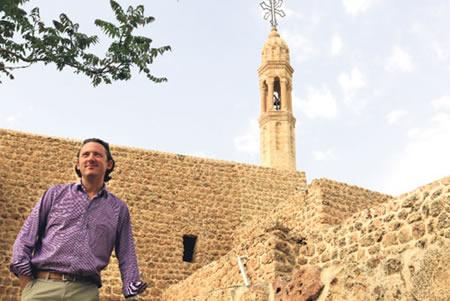 Fransız Gazeteci Mor Gabriel Manastırında