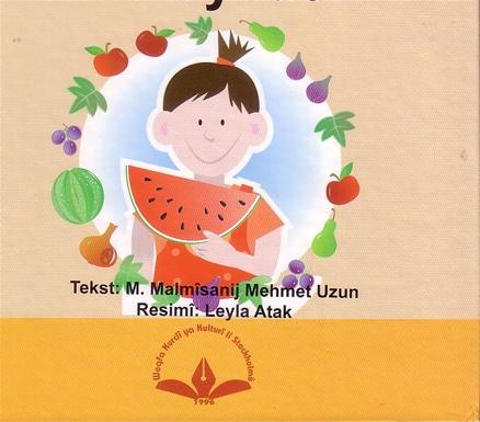 Kürtçe Kitap Kapağı