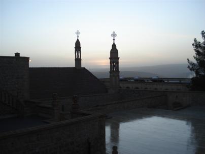 Manastır'da Tan Ağarırken Yaşanan Görüntü