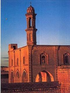 Midyat'ta Bir Süryani Kilisesi