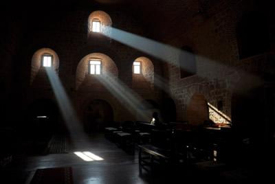 Manastırın İçindeki Kilise