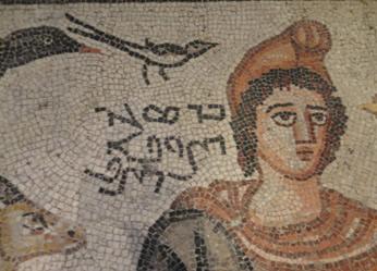 Mozaik ustasının tarihe düştüğü not