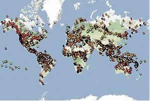 Dünya Diller Haritası