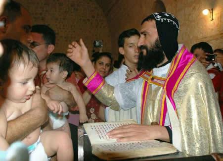 Süryanilerde Vaftiz Ritüeli