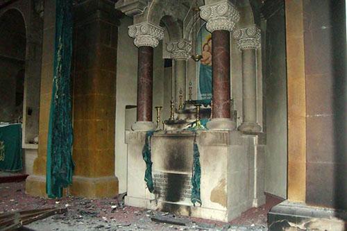 Halep'te Tahrip Edilen Ermeni Kilisesi